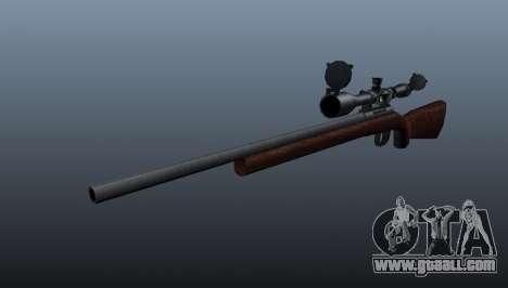 Sports sniper rifle Winchester Model 70 for GTA 4