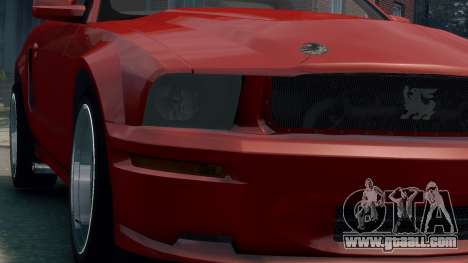 Shelby Terlingua Mustang for GTA 4 back view