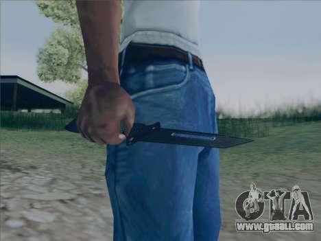 Battlefield 2142 Knife for GTA San Andreas