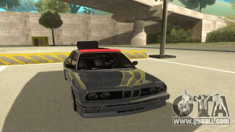 BMW E30 1991 for GTA San Andreas left view