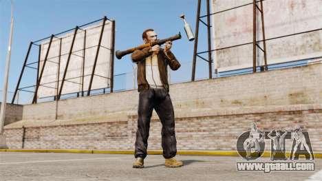 Anti-tank grenade launcher, Molotov for GTA 4 third screenshot