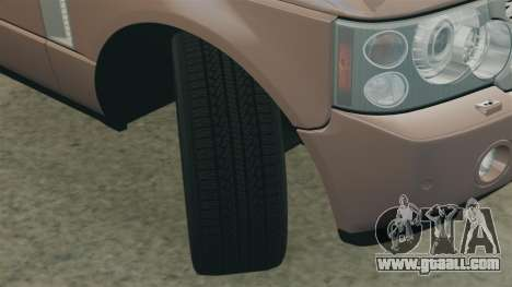 Range Rover Supercharged for GTA 4 side view