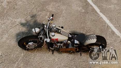 Harley-Davidson Knucklehead v1 for GTA 4 back left view