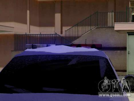 North Yanton Police Esperanto from GTA 5 for GTA San Andreas back view