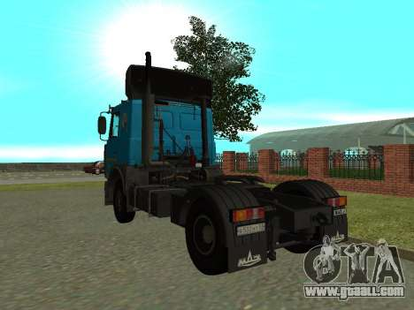 MAZ 54320 for GTA San Andreas right view