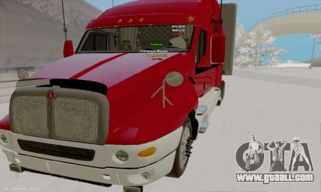Kenworth T2000 v2.9 for GTA San Andreas