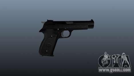 Semiautomatic pistol SIG P210 for GTA 4 third screenshot
