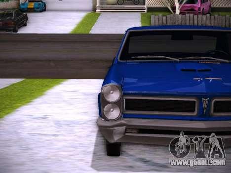 Playable ENB by Pablo Rosetti for GTA San Andreas sixth screenshot