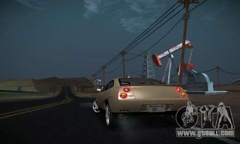 Fiat Coupe for GTA San Andreas side view