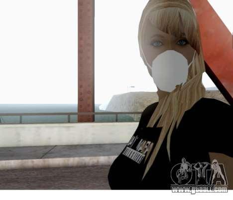 Blow Girl for GTA San Andreas