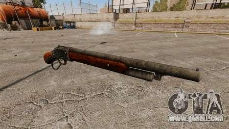 The Winchester Model 1887 shotgun v2.0 for GTA 4