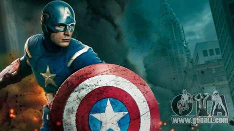 Boot screen Avengers for GTA 4 third screenshot