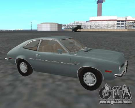 Ford Pinto 1973 for GTA San Andreas right view