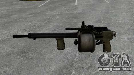 Shotgun Striker for GTA 4 third screenshot