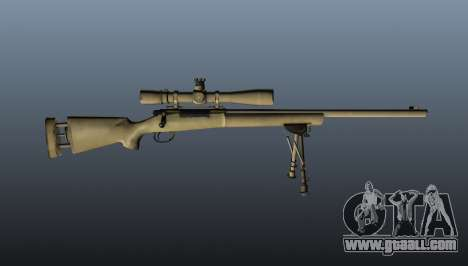 The M24 sniper rifle for GTA 4 third screenshot