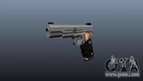 The AMT Hardballer semi-automatic pistol for GTA 4