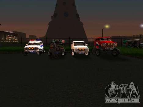 VAZ 212140 Police for GTA San Andreas