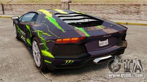 Lamborghini Aventador LP700-4 2012 [EPM] for GTA 4 left view