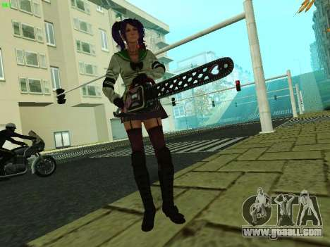 Juliet Starling for GTA San Andreas third screenshot