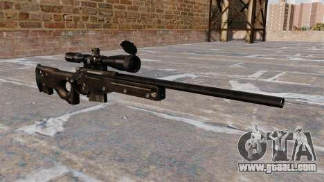 AI AWM sniper rifle for GTA 4