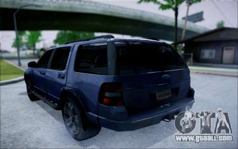 Ford Explorer Eddie Bauer 2011 for GTA San Andreas left view