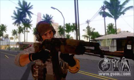 Engineer of Battlefield 4 for GTA San Andreas second screenshot