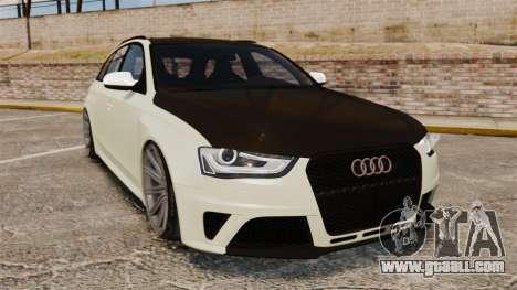 Audi RS4 Avant VVS-CV4 2013 for GTA 4