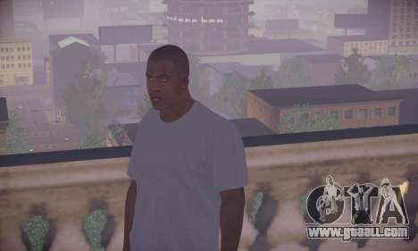 Franklin HD for GTA San Andreas