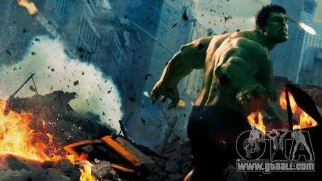 Boot screen Avengers for GTA 4 forth screenshot