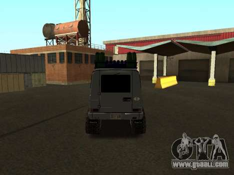 Mercedes Benz G500 Offroad for GTA San Andreas right view