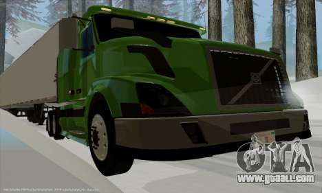 Volvo VNL430 for GTA San Andreas right view