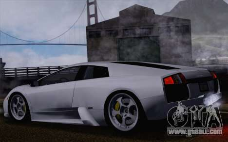 Lamborghini Murciélago 2005 for GTA San Andreas wheels