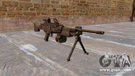 HK MG4 light machine gun for GTA 4