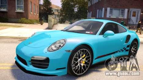 Porsche 911 Turbo 2014 [EPM] for GTA 4