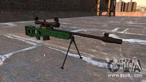SV-98 sniper rifle for GTA 4