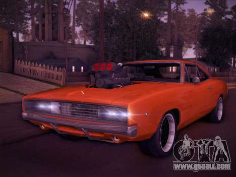 Dodge Charger RT V2 for GTA San Andreas left view