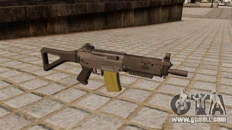 Automatic SIG SG 552 Commando for GTA 4