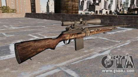 M21 sniper rifle for GTA 4 second screenshot