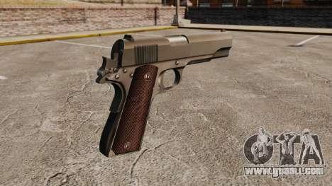 Colt M1911 pistol v5 for GTA 4 second screenshot