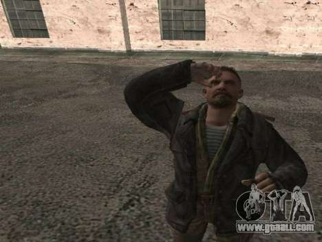 Viktor Reznov for GTA San Andreas third screenshot