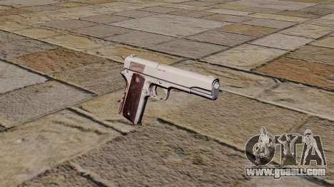 45 M1911 Colt pistol for GTA 4