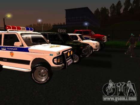 VAZ 212140 Police for GTA San Andreas left view