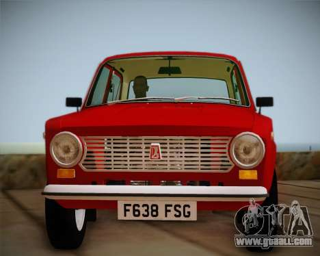 VAZ 21011 Export for GTA San Andreas right view