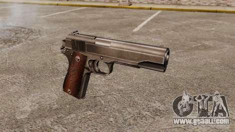 Colt M1911 pistol v4 for GTA 4