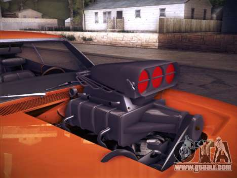Dodge Charger RT V2 for GTA San Andreas back view