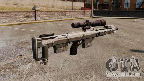 DSR sniper rifle for GTA 4 second screenshot