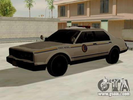 North Yanton Police Esperanto from GTA 5 for GTA San Andreas