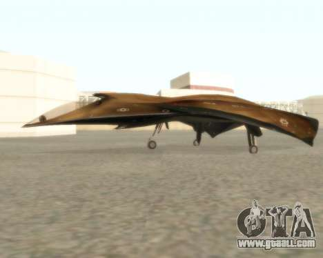EDI for GTA San Andreas right view