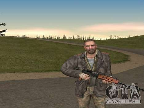 Viktor Reznov for GTA San Andreas second screenshot