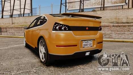 GTA V Cheval Surge for GTA 4 back left view